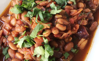 Spicy Mexican bean stew