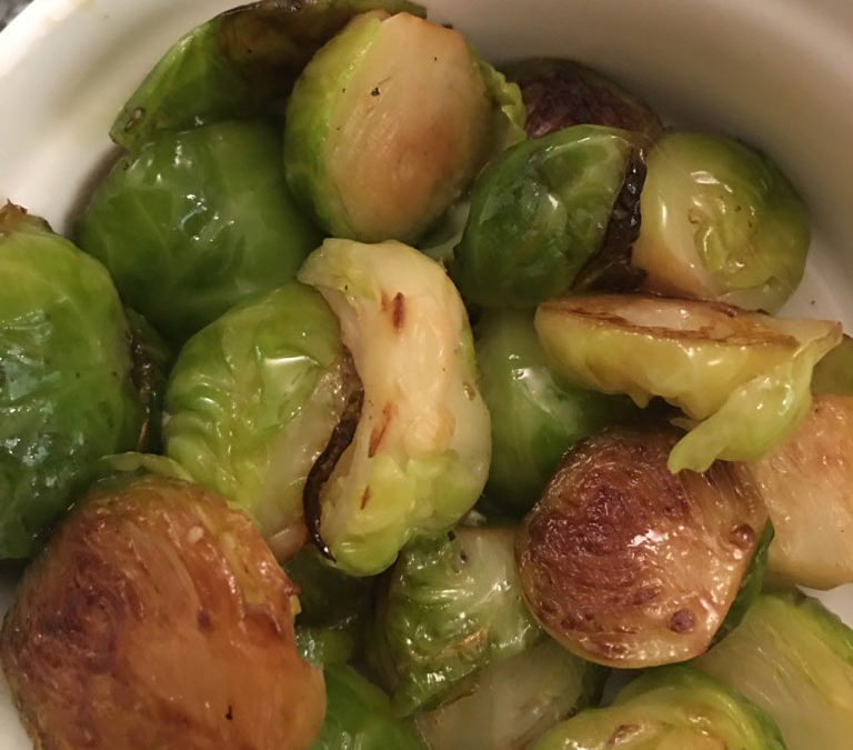 Brilliant brussels sprouts